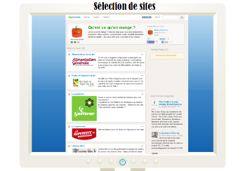 sélection de sites